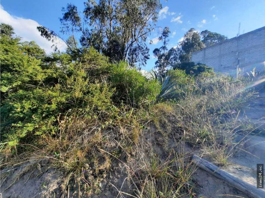 en venta terreno residencial sector norte carcelen mastodontes