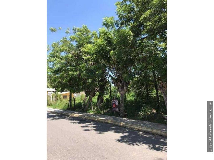en venta terrenos en sabina frente a residencial haciendas