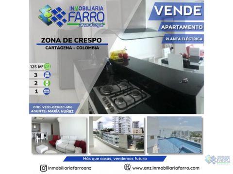 en venta zona crespo cartagena ve03 0326zc mn