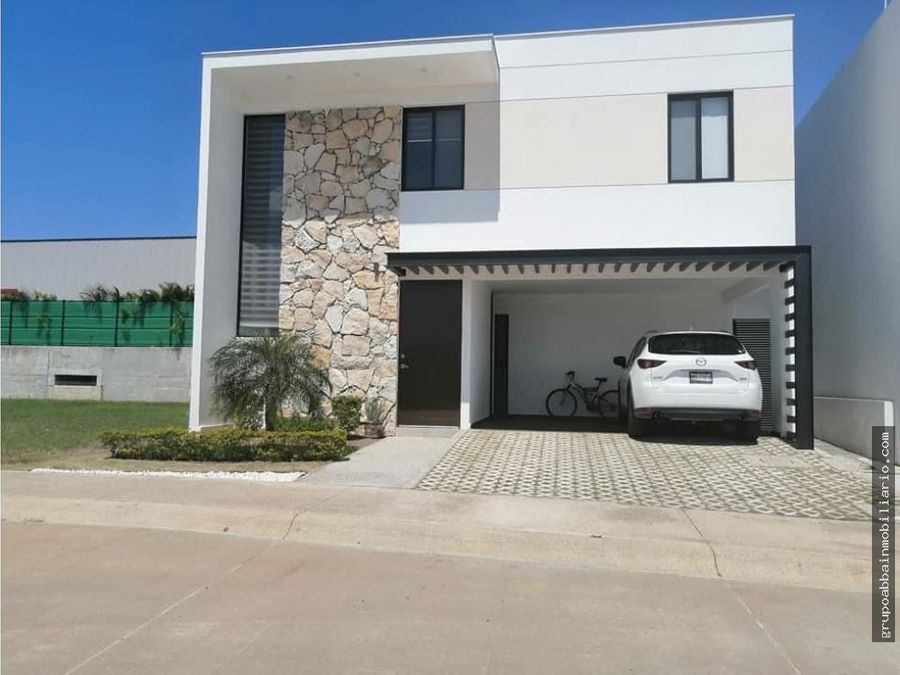 en venta 8 modelo de casas en residencial villa brisa