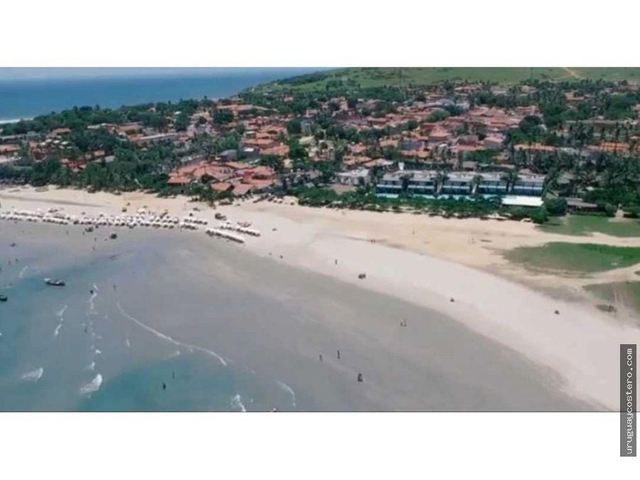 espectacular terreno en jericoacoara brasil