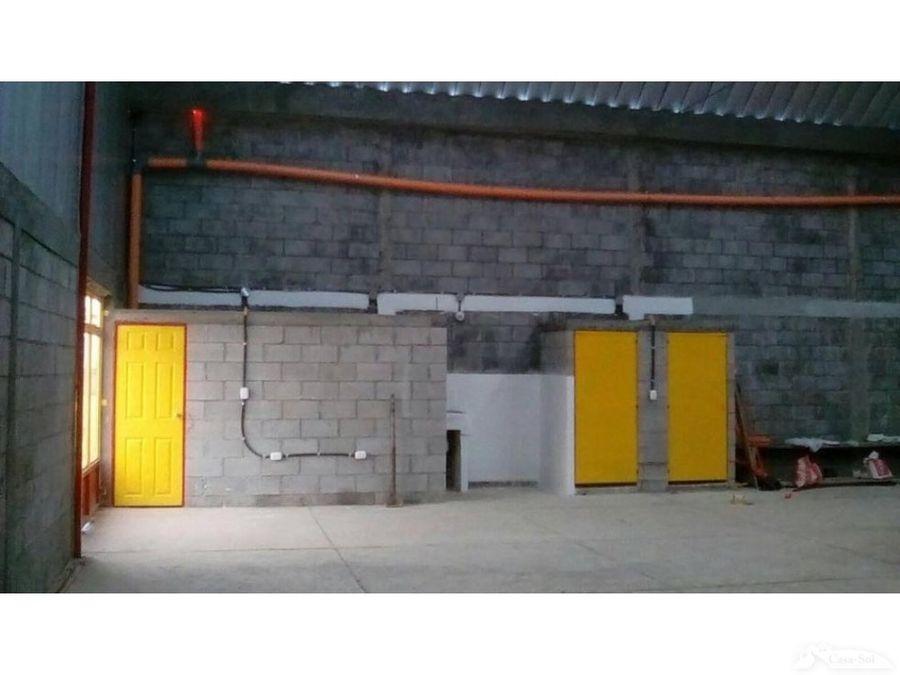 espaciosa bodega en renta en parque industrial tecnopark d