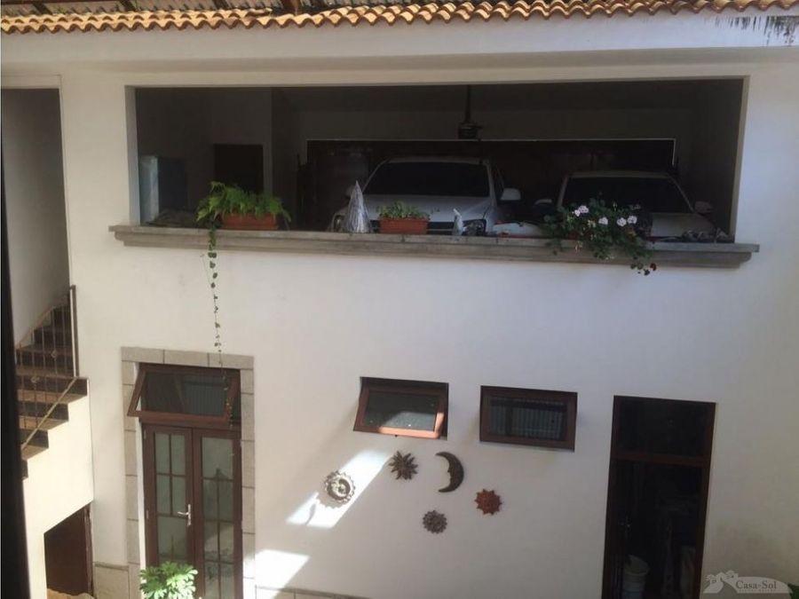 espaciosa casa con lindo jardin en santa rosalia km 125 ces d