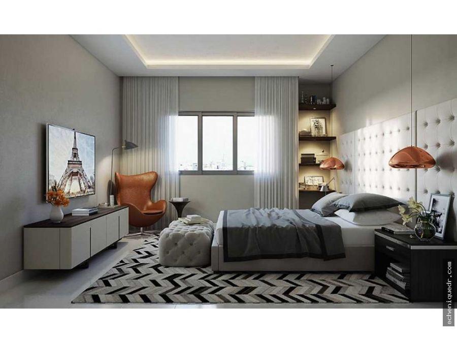 espacioso apartamento en naco de 2 habitaciones