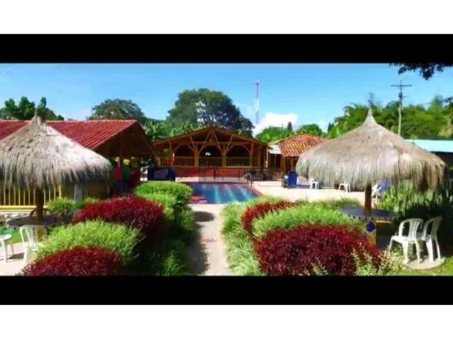 espectacular eco hotel con 7 cabanas la tebaida quindio