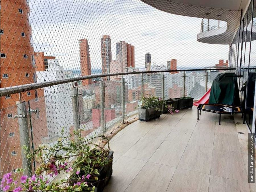 espectacular y moderno apartamento en venta sector alto prado