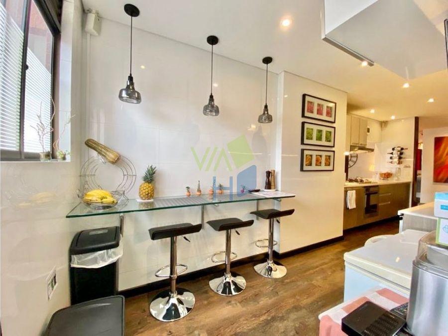espectacular apartamento en venta en santa barbara