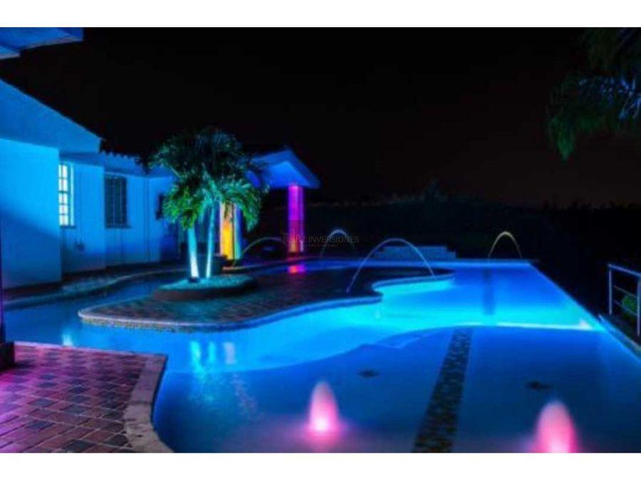 espectacular casa campestre 8 habitaciones cerritos teatro piscina