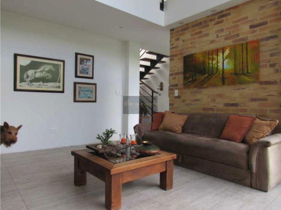 espectacular casa campestre en venta circasia quindio