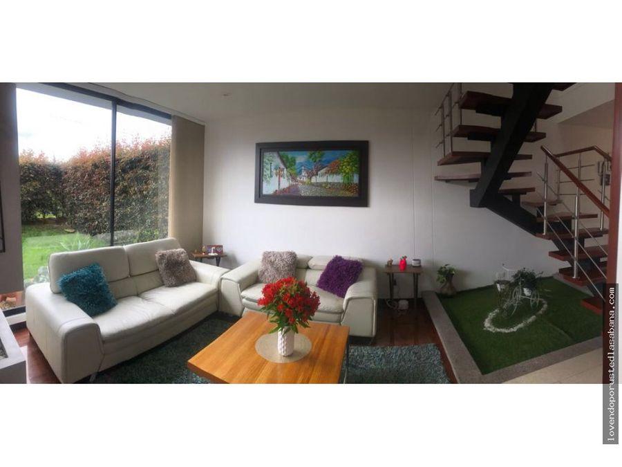 espectacular casa en cajica club house