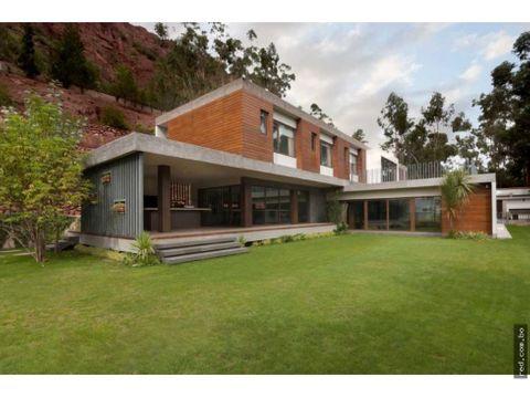 espectacular casa en el valle de aranjuez