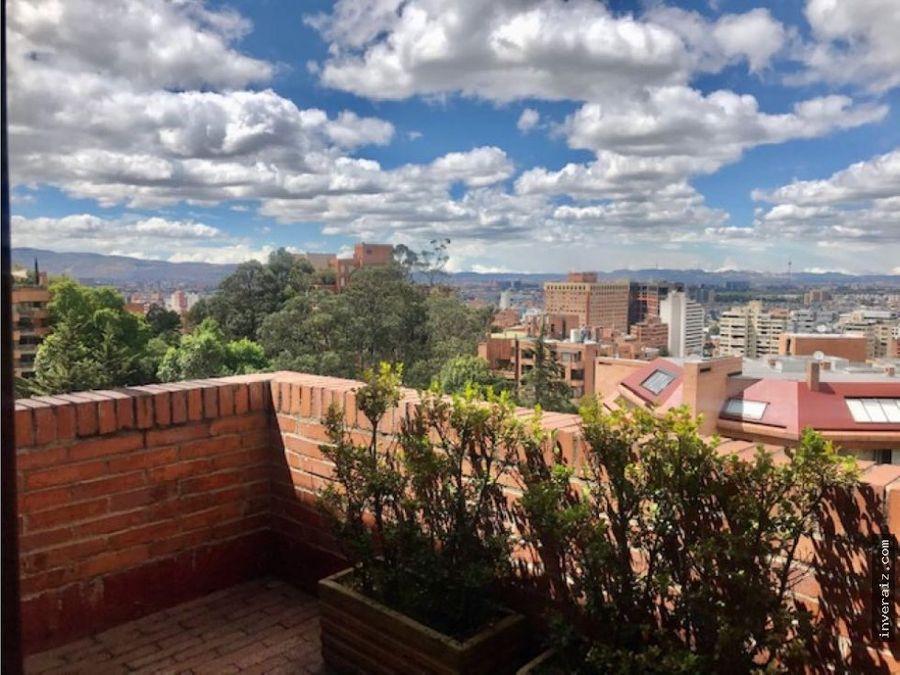 espectacular penthouse en rosales vista panoramica