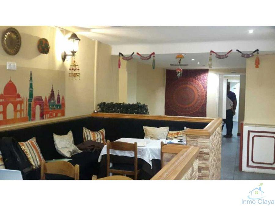 traspaso bar restaurante en gracia cerca diagonal