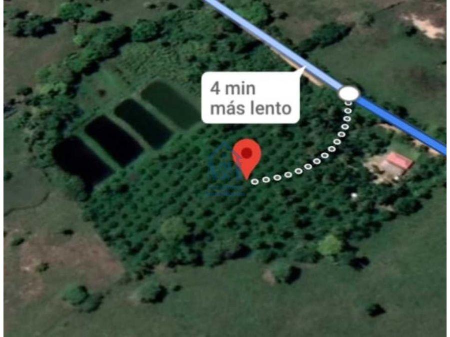finca de 30000 m2 en zona rural cerca a buenos aires en monteria