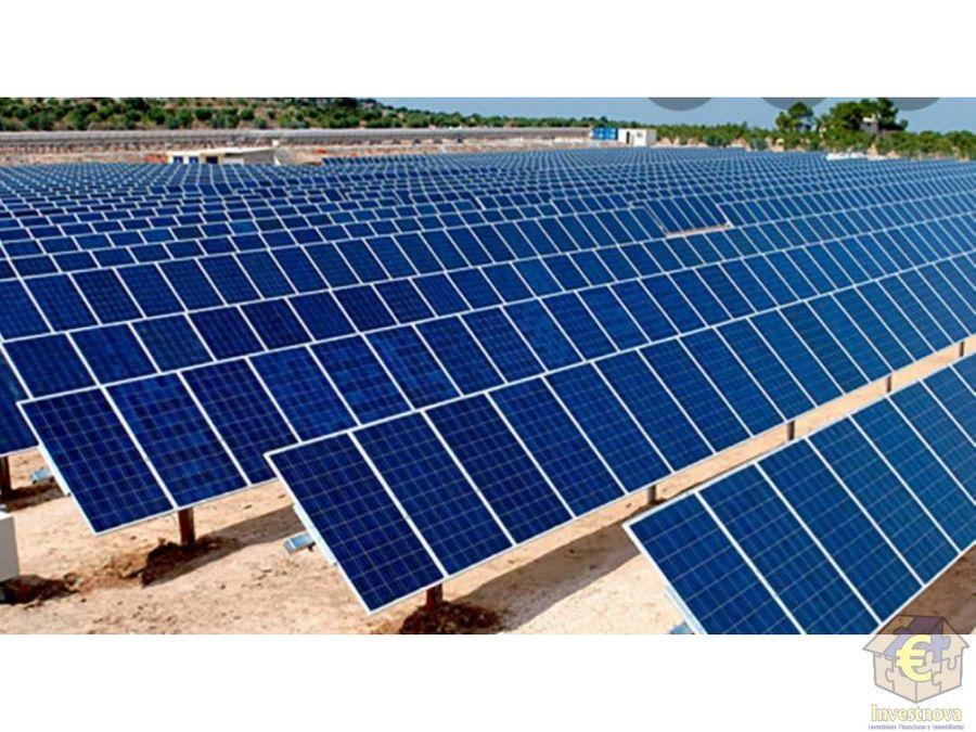 finca en alquiler para fotovoltaica