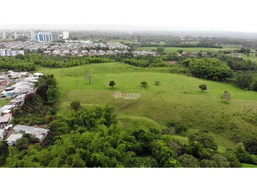 lote de 100782 m2 en suelo expansion urbana armenia
