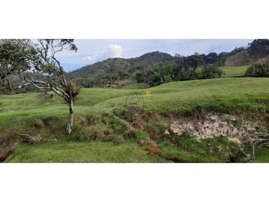 finca para proyecto agricola pisocola o ganaderia