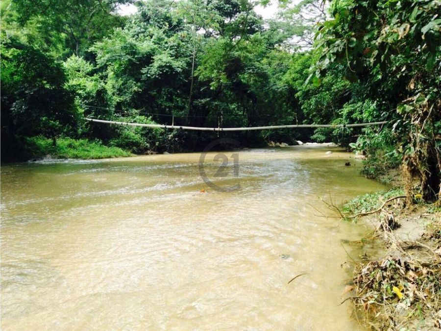 finca 103 ha con rio en parque tayrona santa marta