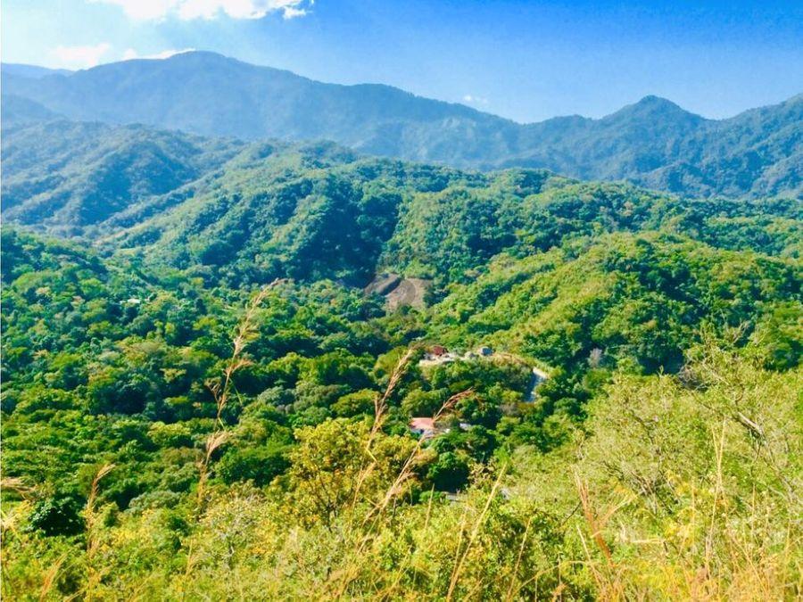 finca 10 hectareas con rio y vista a la ciudad paso del mango bonda sm