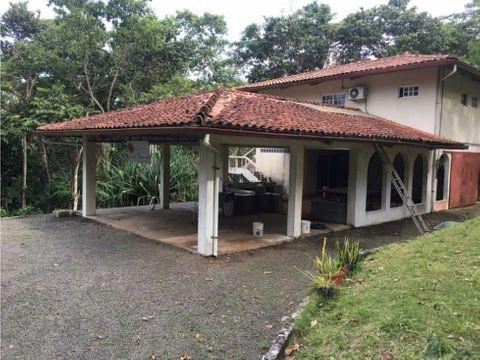 casa amoblada ubicada en finca de 20 hectareas