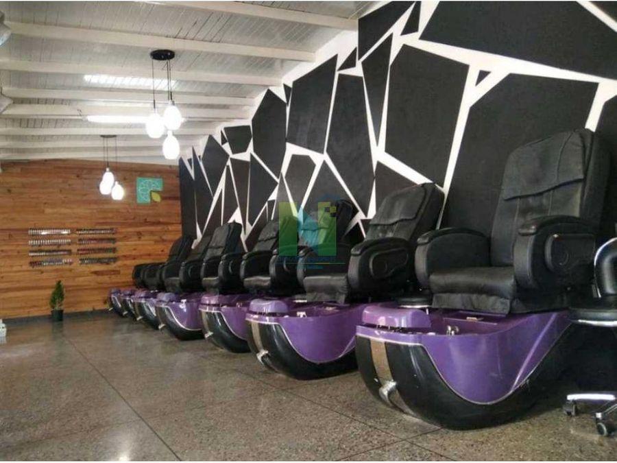 fondo de comercio en venta salon de belleza nueva segovia barquisimeto