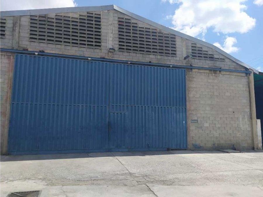 galpon en alquiler zona industrial ii barquisimeto