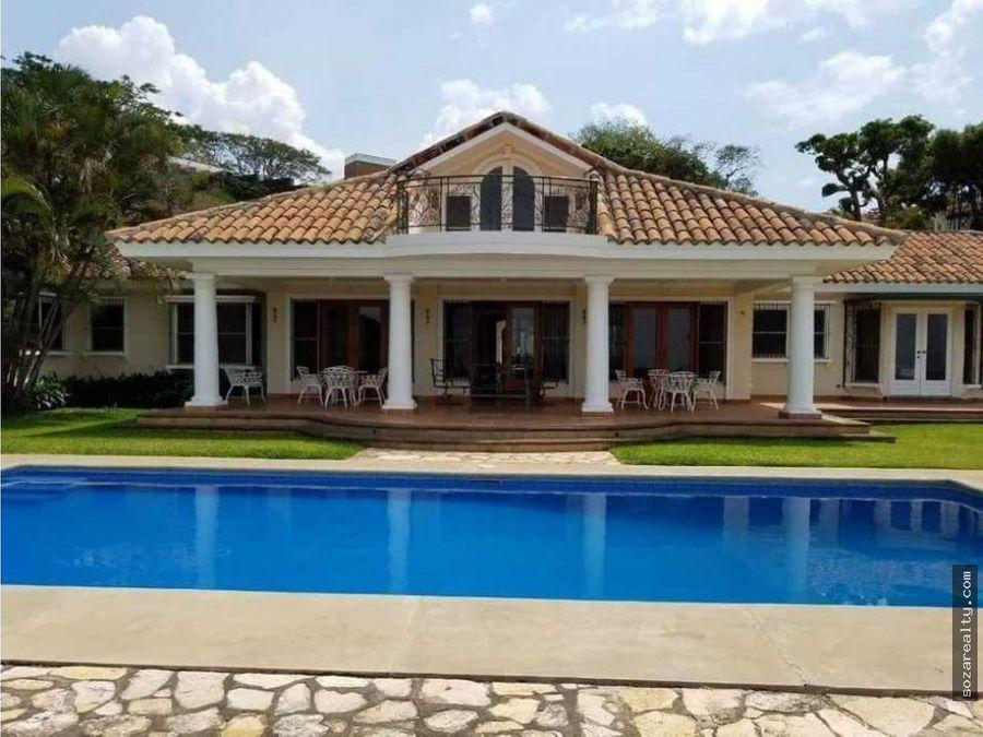 ganga se vende mansion en carretera sur