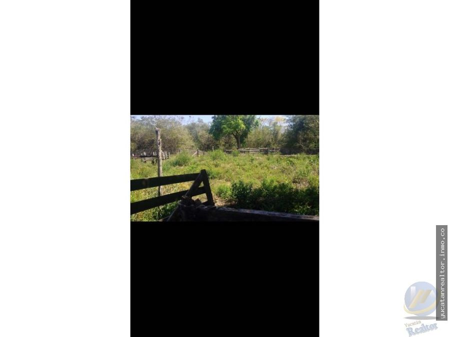 rancho en venta oportunidad en el municipio de tunkas