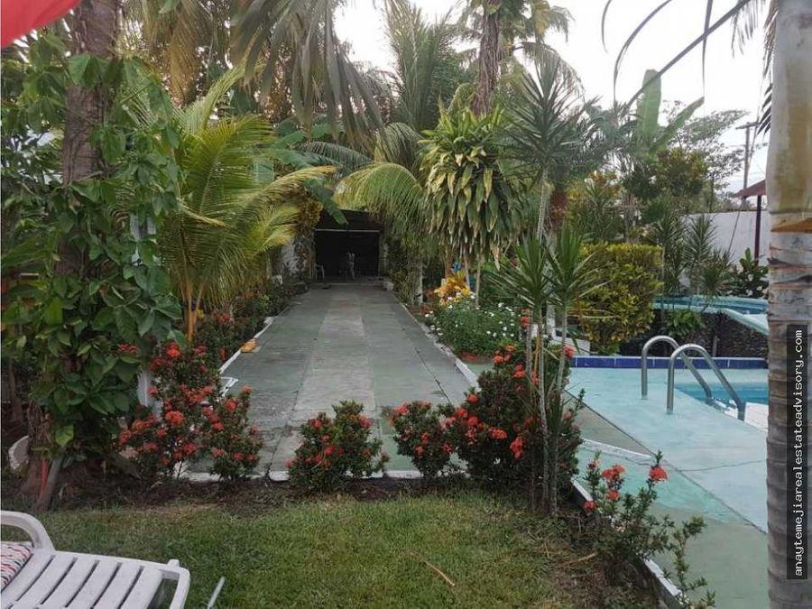 granja con piscina en renta palin escuintla