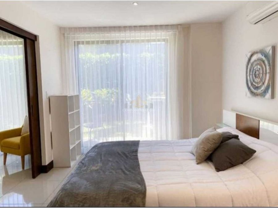 hermoso apartamento amueblado en pozos de santa ana