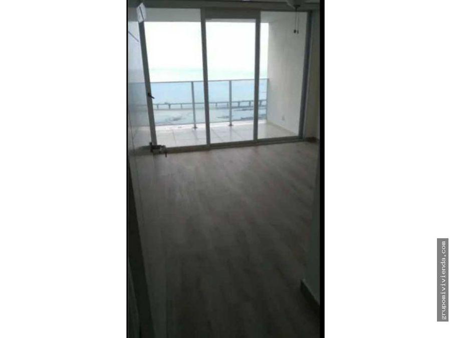 hermoso apartamento con vista directa al mar en coco del mar