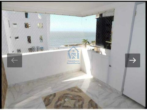 hermoso apartamento con vista al mar en boca grande cartagena bolivar