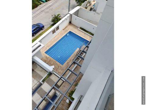 hermoso apartamento amoblado en arriendo sector exclusivo riomar barra