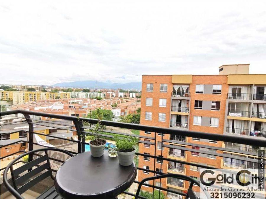 hermoso apartamento en el caney zona residencial sur de cali