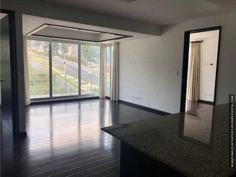 apartamento en venta en edificio nueva caledonia zona 16