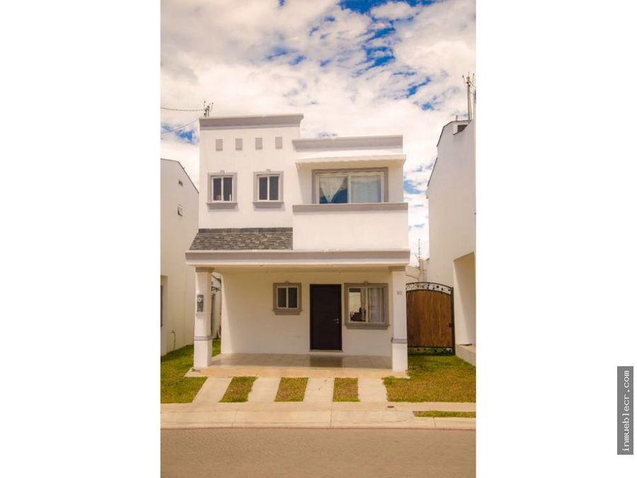 hermoso proyecto de casas en venta alajuela