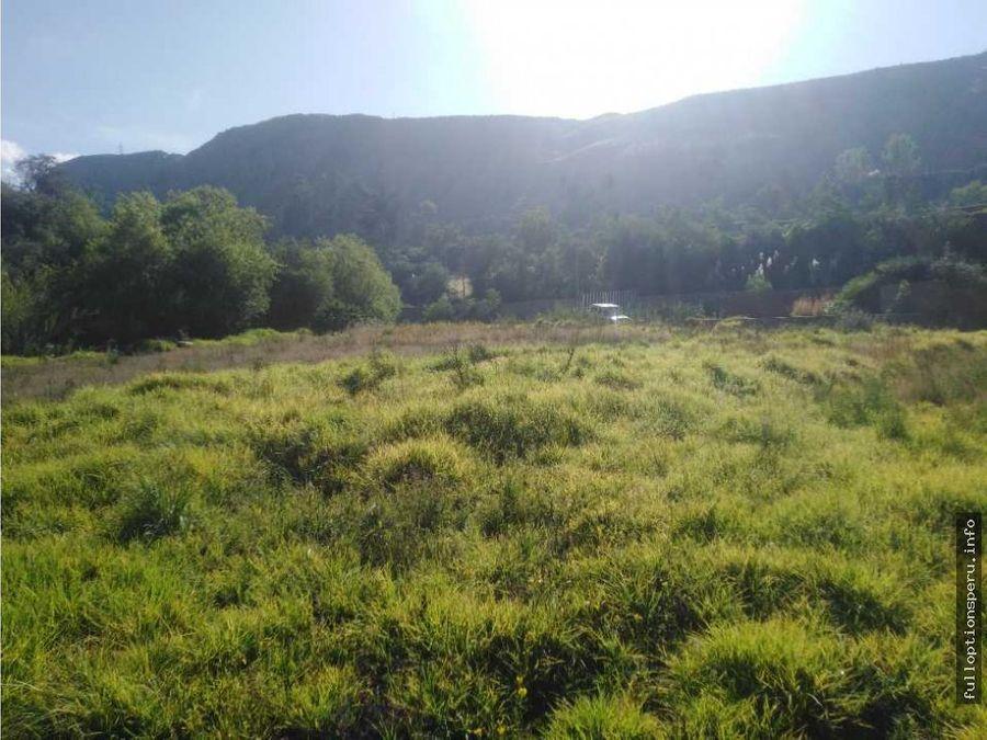 hermoso terreno en venta en el valle de chilina