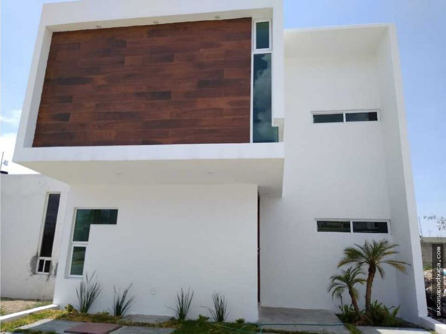 hermosa casa a 12 minutos de plaza explanada