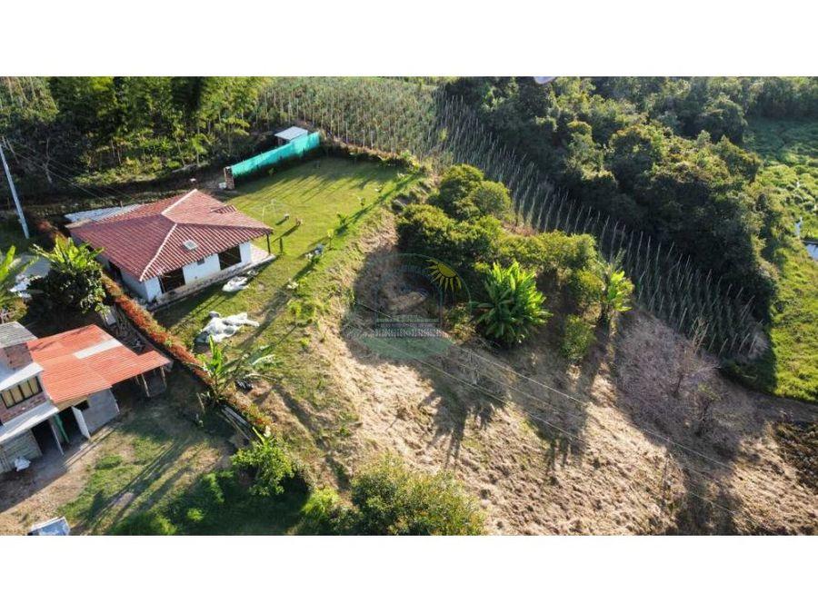 hermosa casa campestre en marinilla via la ceja excelente terminados