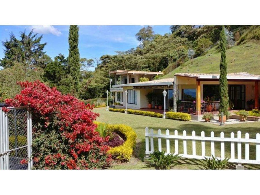 hermosa casa campestre en venta cerca a medellin