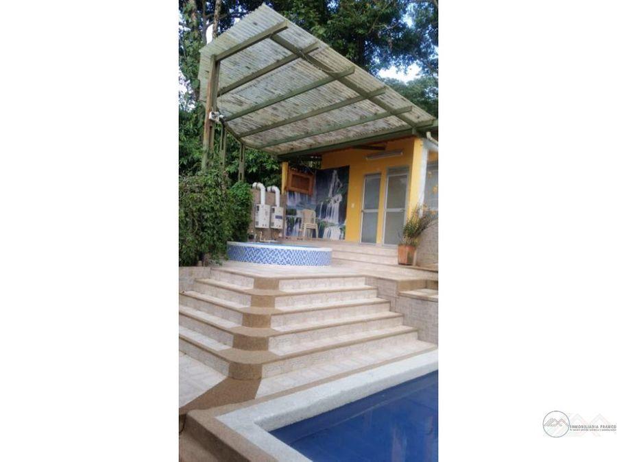 hermosa casa campestre para la venta en circasia q