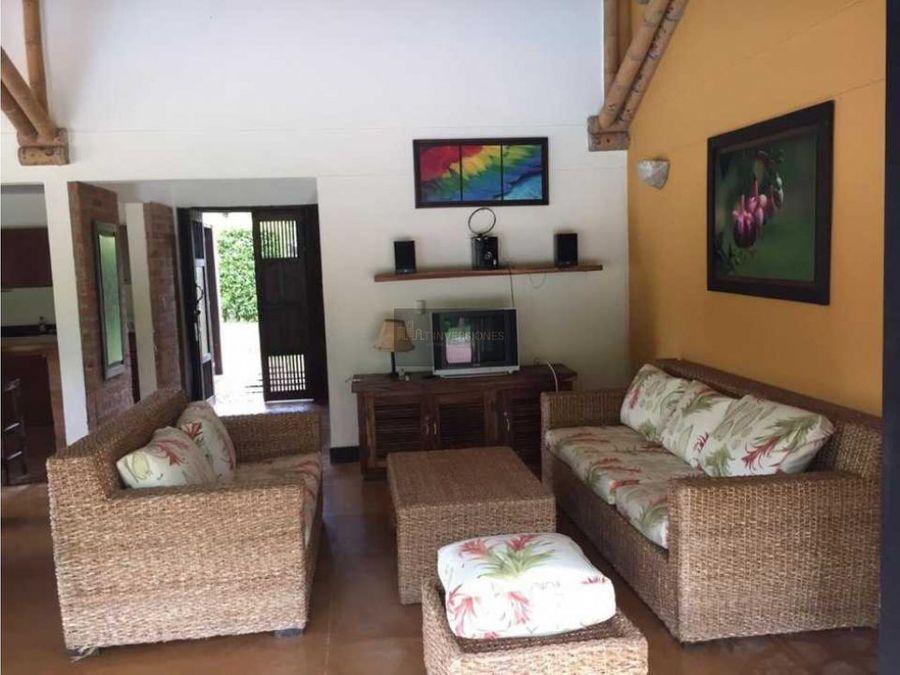 hermosa casa campestre turistica quimbaya panaca