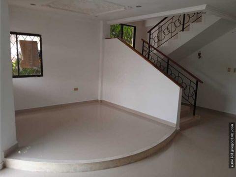 hermosa casa de 2 pisos en barrio santa clara cerete negociable ab16