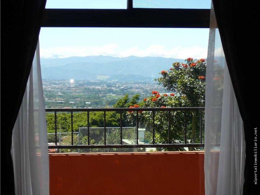 hermosa casa de montana con buena vistas