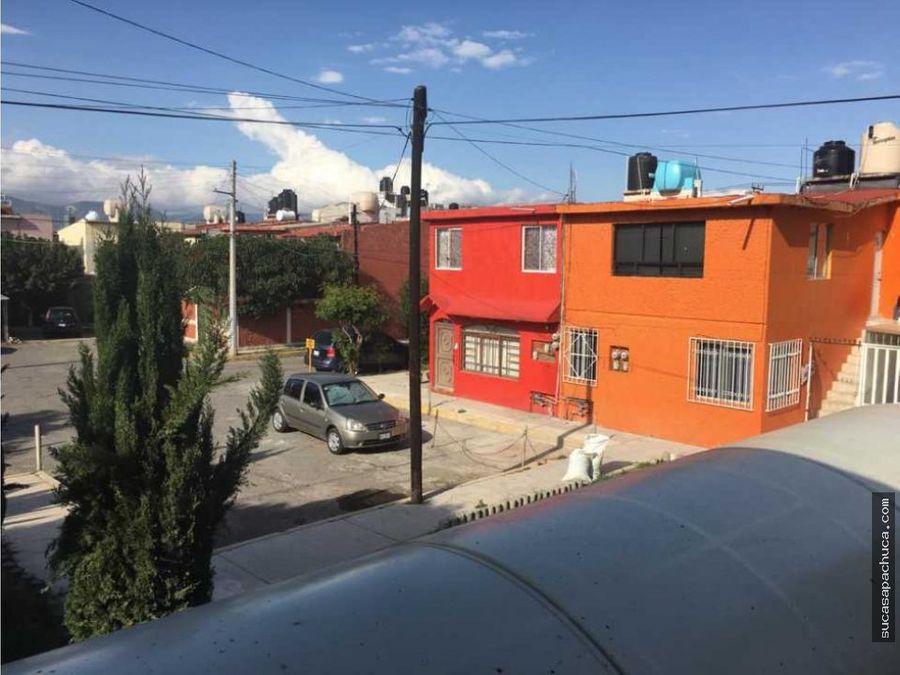 hermosa casa duplex en cdoria al sur de pachuca
