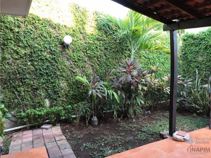 hermosa casa en venta chuburna