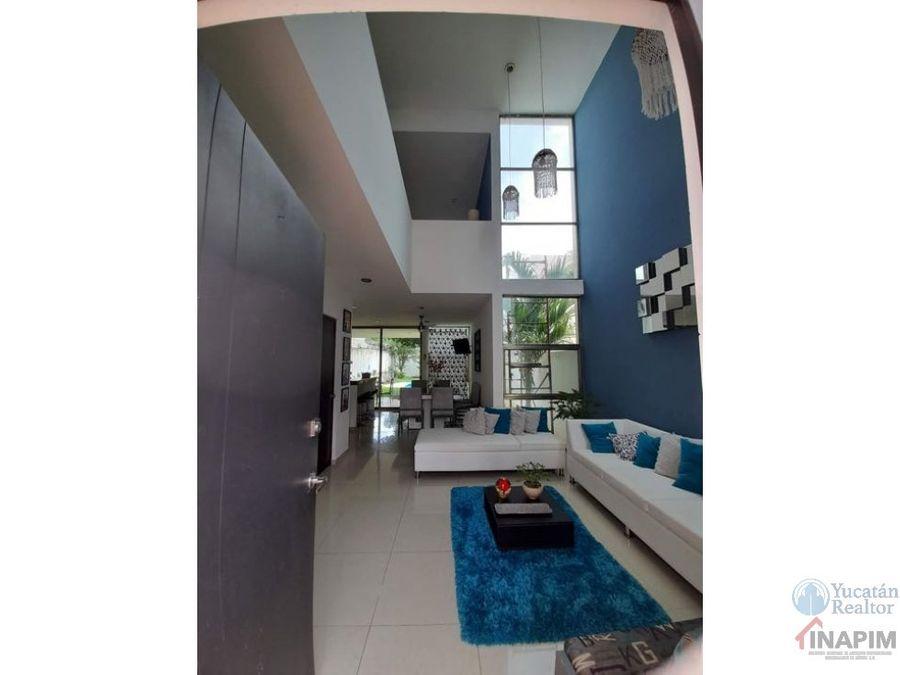 hermosa casa en renta o venta en leandro valle merida
