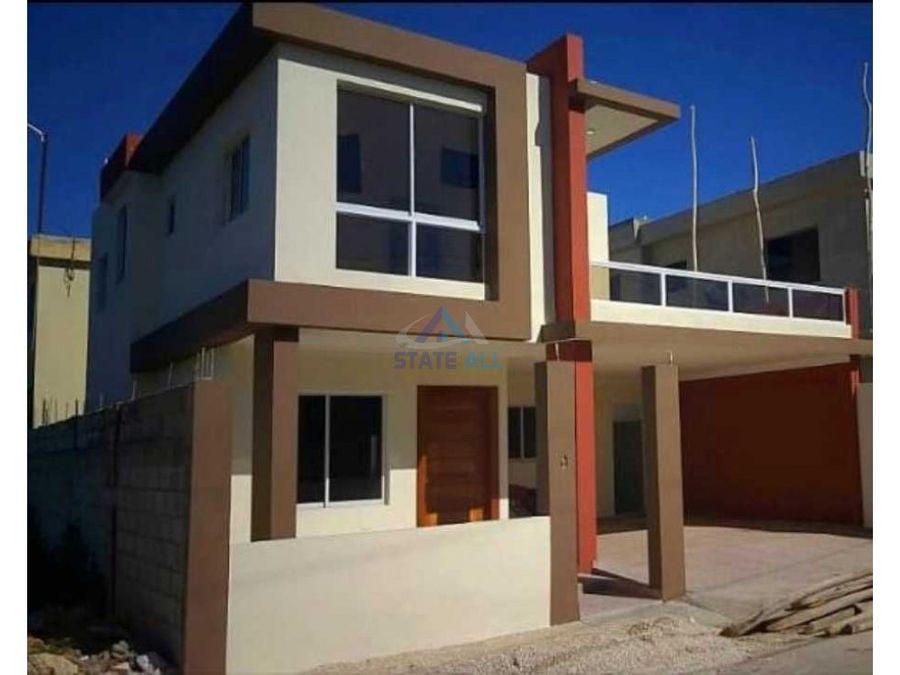 exclusiva casa de 2 niveles en san isidro