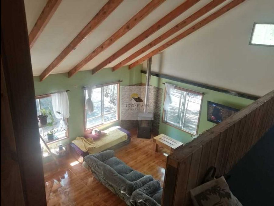hermosa casa en sitio de 2500 metros condominio bucalemu metrenehue
