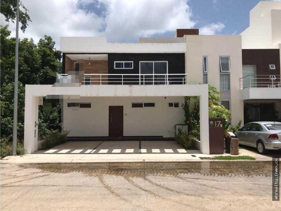 hermosa casa nueva en residencial aqua